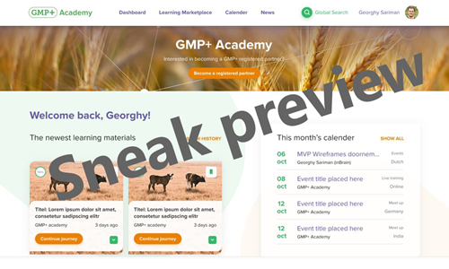 GMP+ International to launch renewed GMP+ Academy
